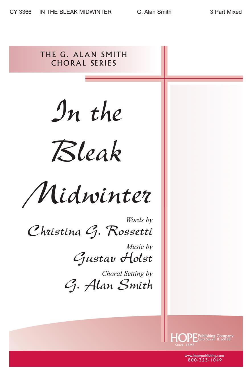 In the Bleak Midwinter - Three-Part Mixed Cover Image