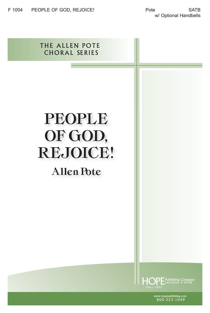 People of God Rejoice - SATB w-opt. Handbells Cover Image