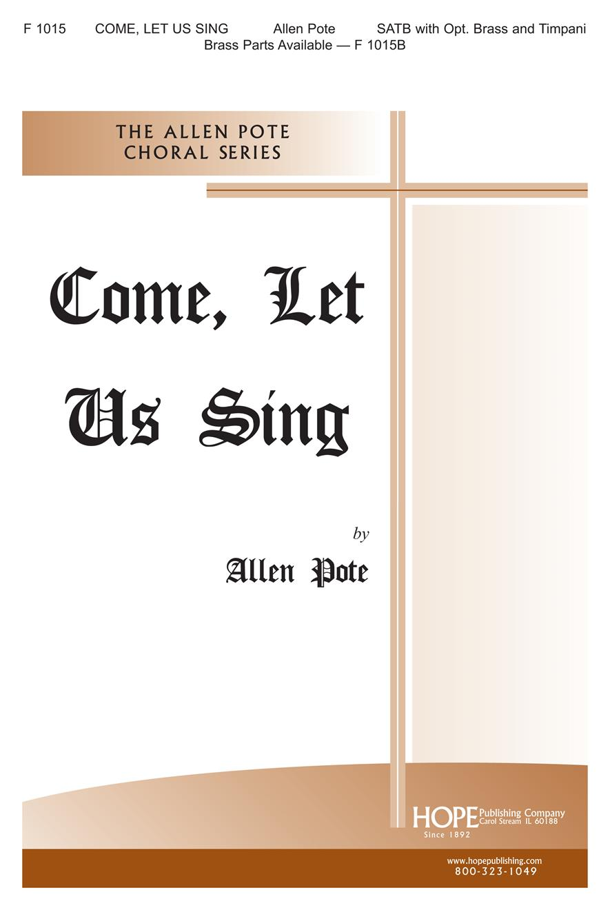 Come Let Us Sing - SATB Cover Image