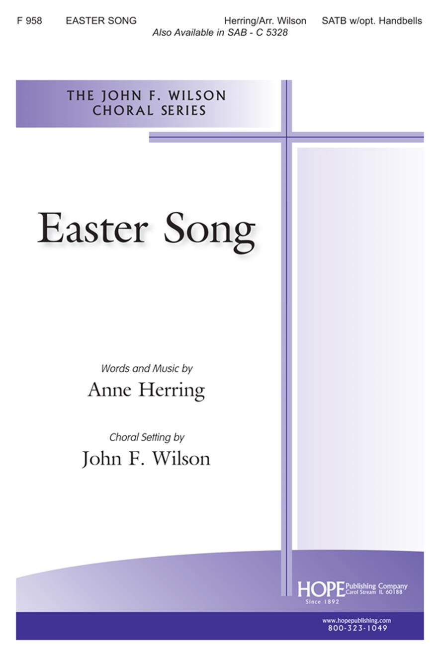 Easter Song The - SATB w-opt. Handbells Cover Image
