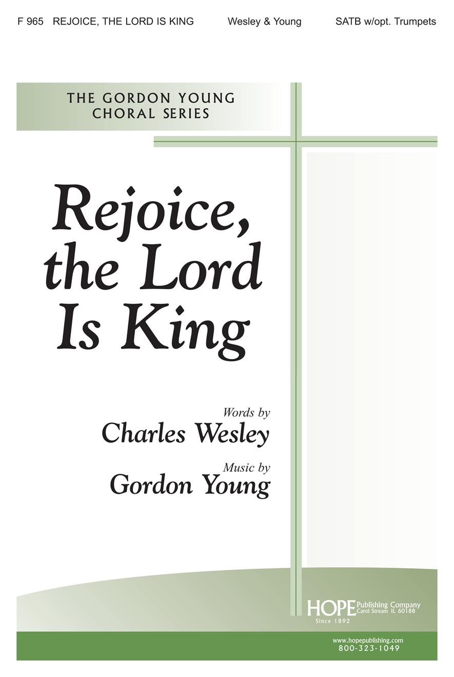 Rejoice the Lord Is King - SATB w-opt. Trumpets Cover Image