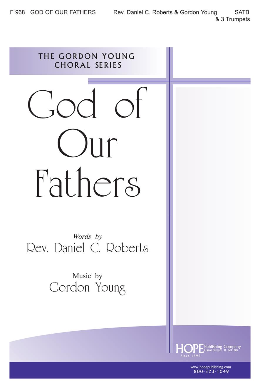 God of Our Fathers - SATB and 3 Trumpets Cover Image