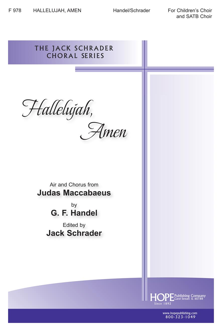 Hallelujah Amen - SATB and Children's Choir Cover Image