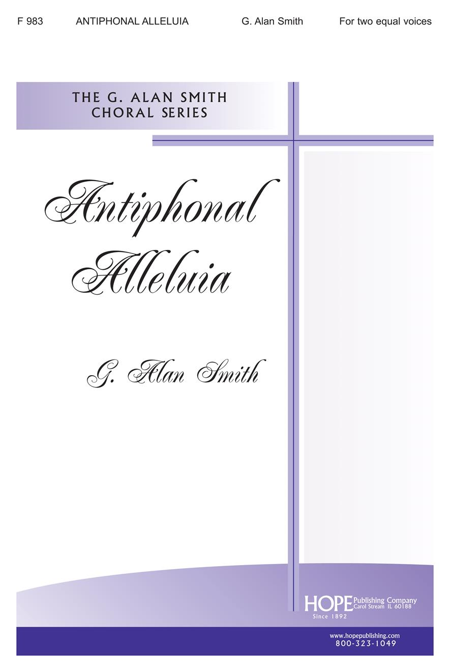 Antiphonal Alleluia - Two Equal Voices Cover Image