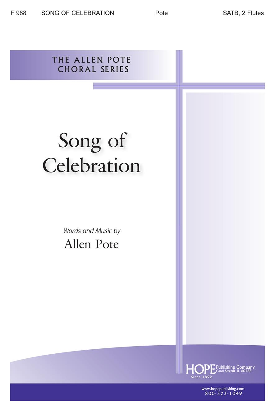 Song of Celebration - SATB Cover Image
