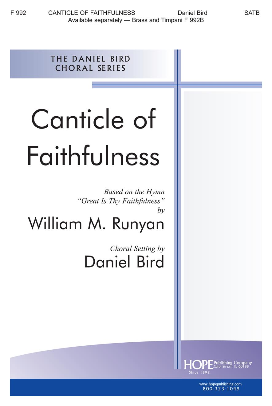 Canticle of Faithfulness - SATB Cover Image