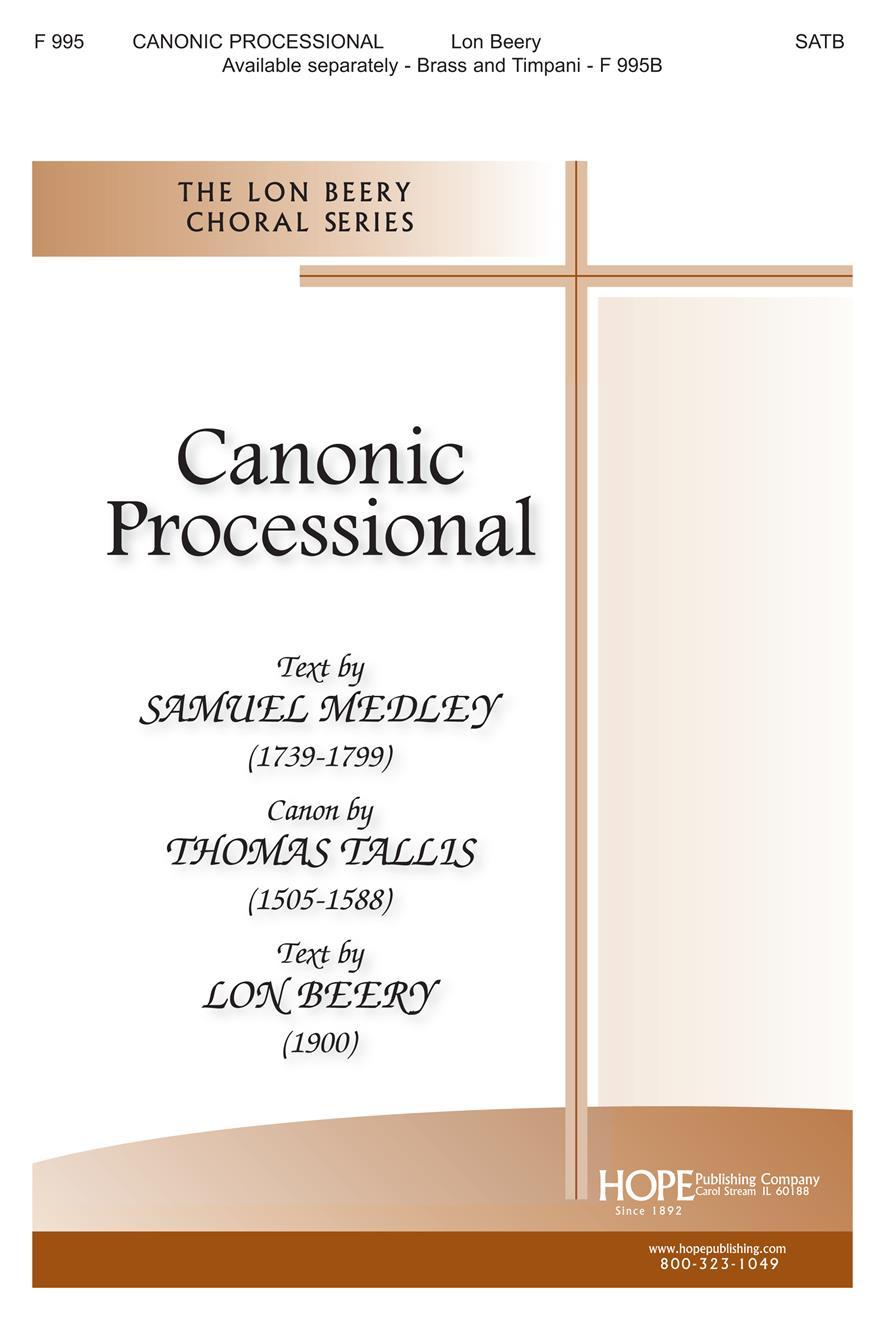 Canonic Processional - SATB Cover Image