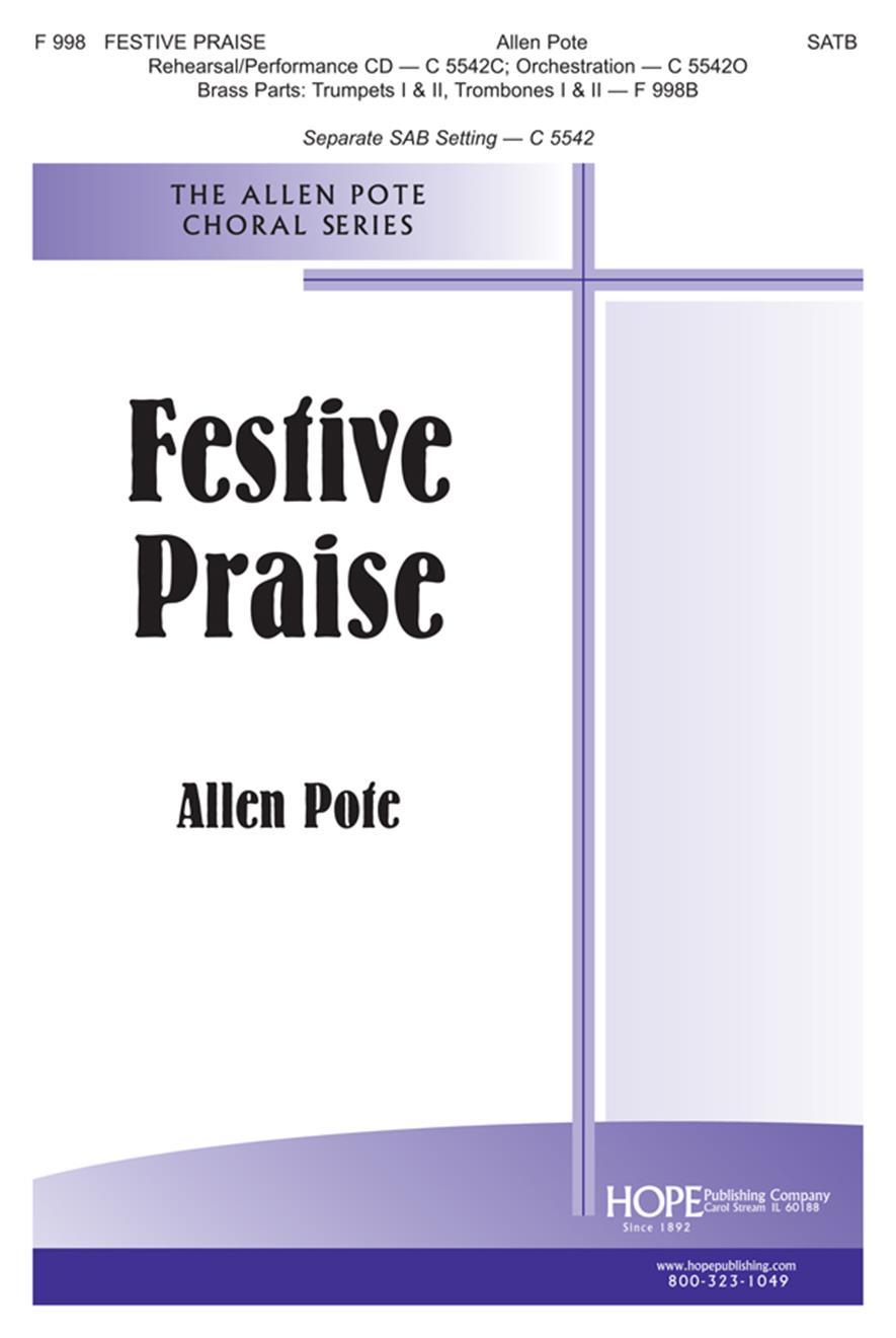 Festive Praise - SATB Cover Image
