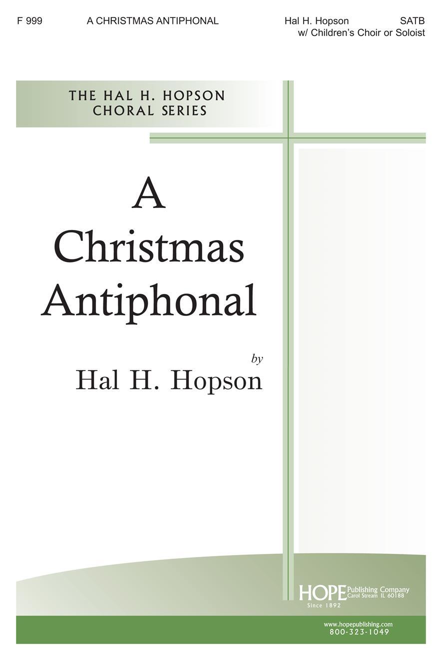 Christmas Antiphonal A - SATB Children's Choir or Soloist and Handbells Cover Image