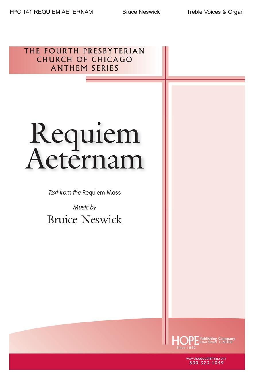 Requiem Aeternam - Treble Voices (Unison) Cover Image