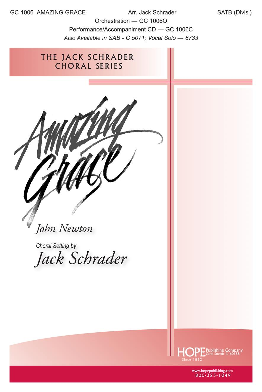 Amazing Grace - SATB Cover Image
