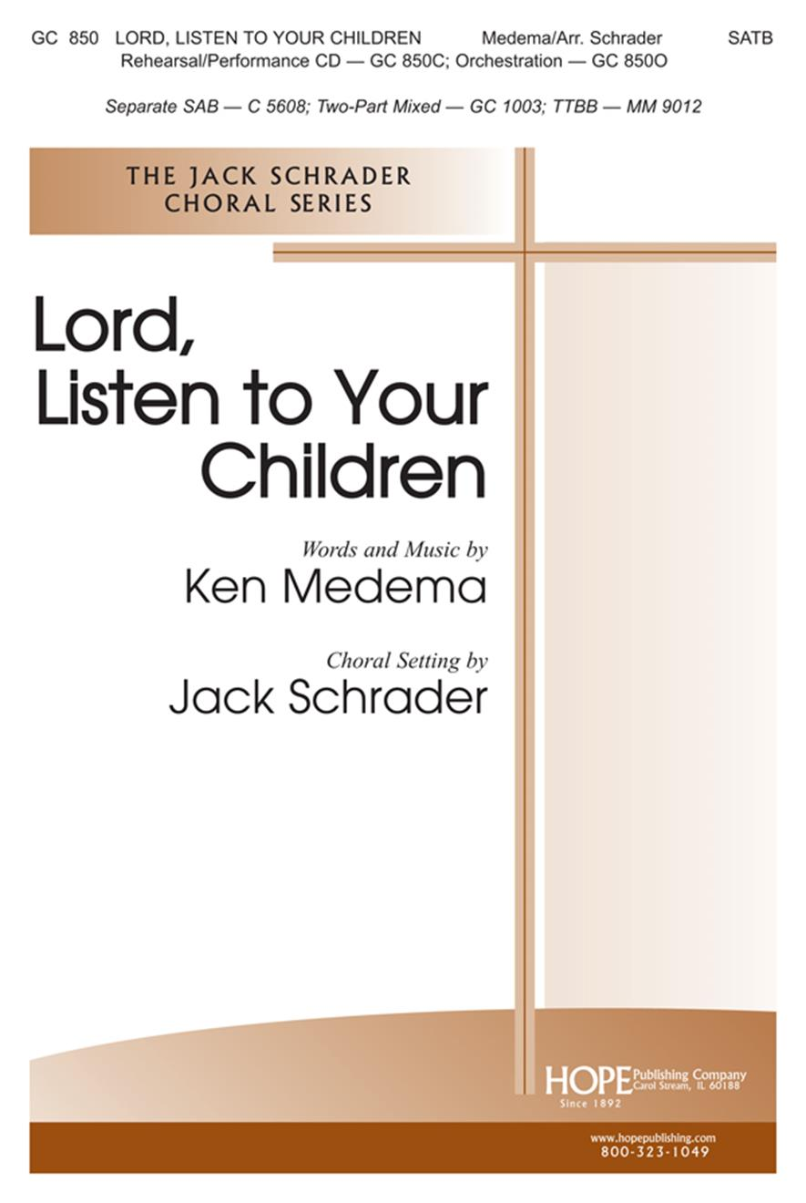 Lord Listen to Your Children - SATB Cover Image
