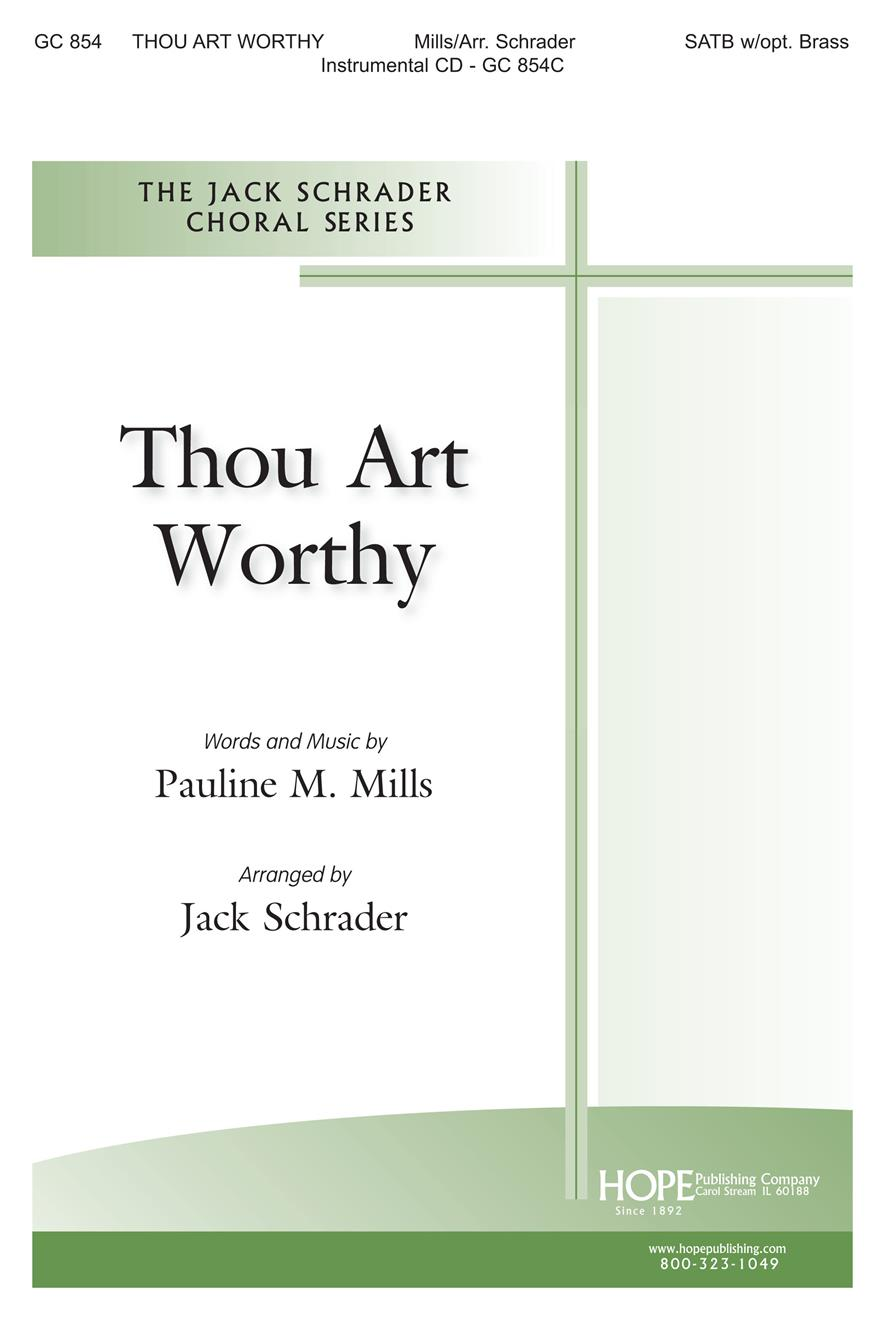 Thou Art Worthy - SATB Cover Image