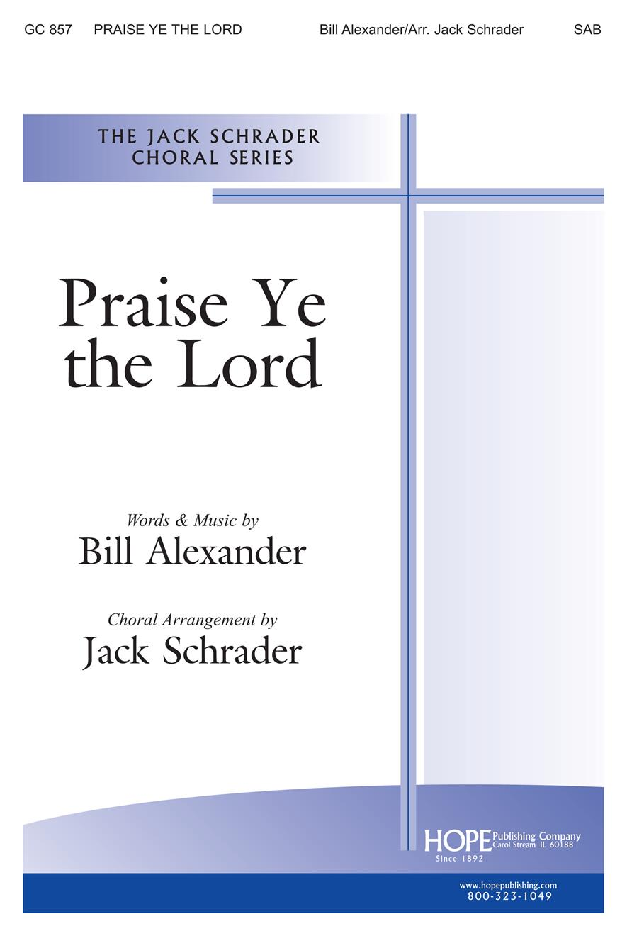 Praise Ye the Lord - SAB Cover Image
