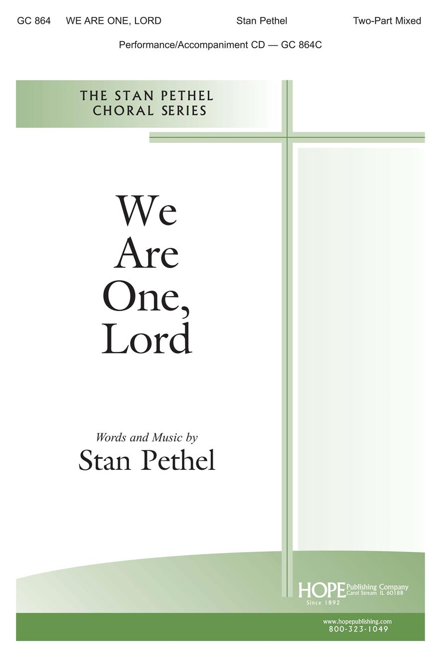 We Are One Lord - SATB Cover Image