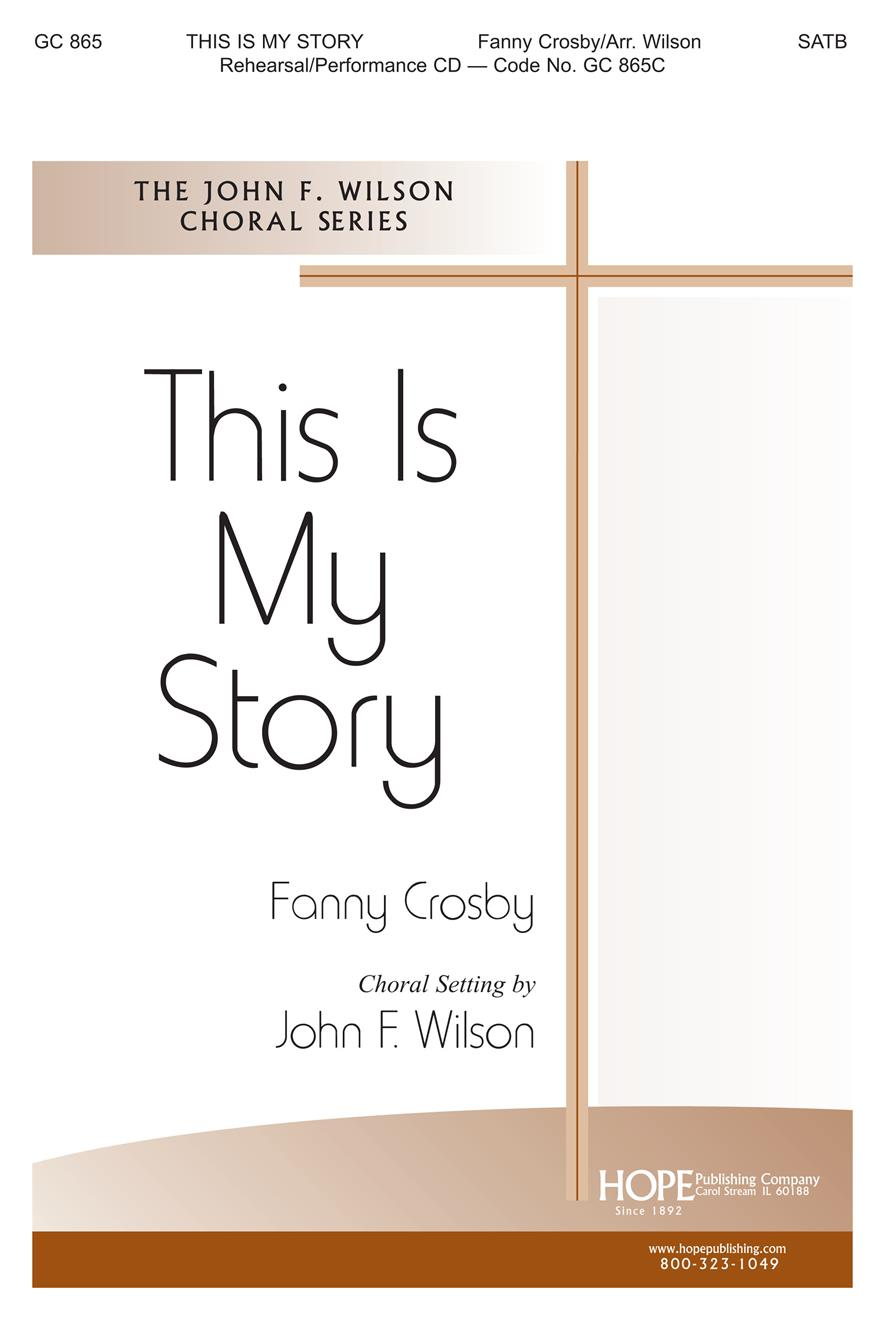 This Is My Story - SATB Cover Image