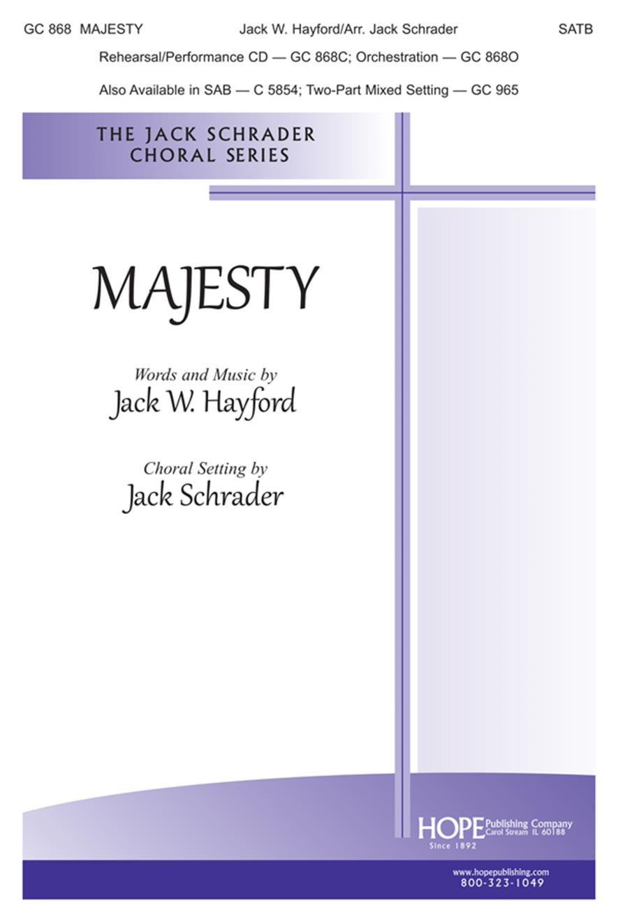 Majesty - SATB Cover Image