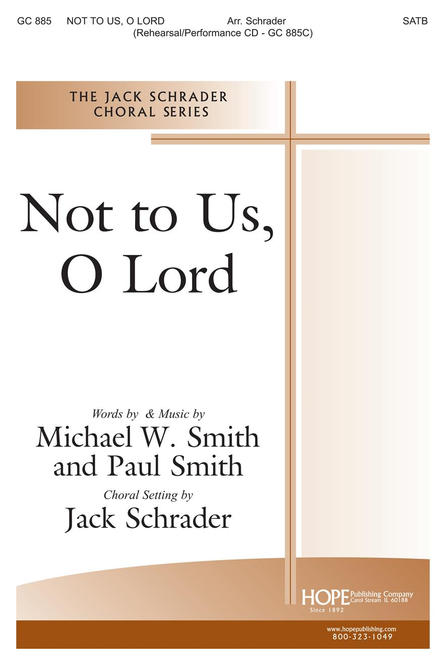 Not to Us O Lord - SATB Cover Image