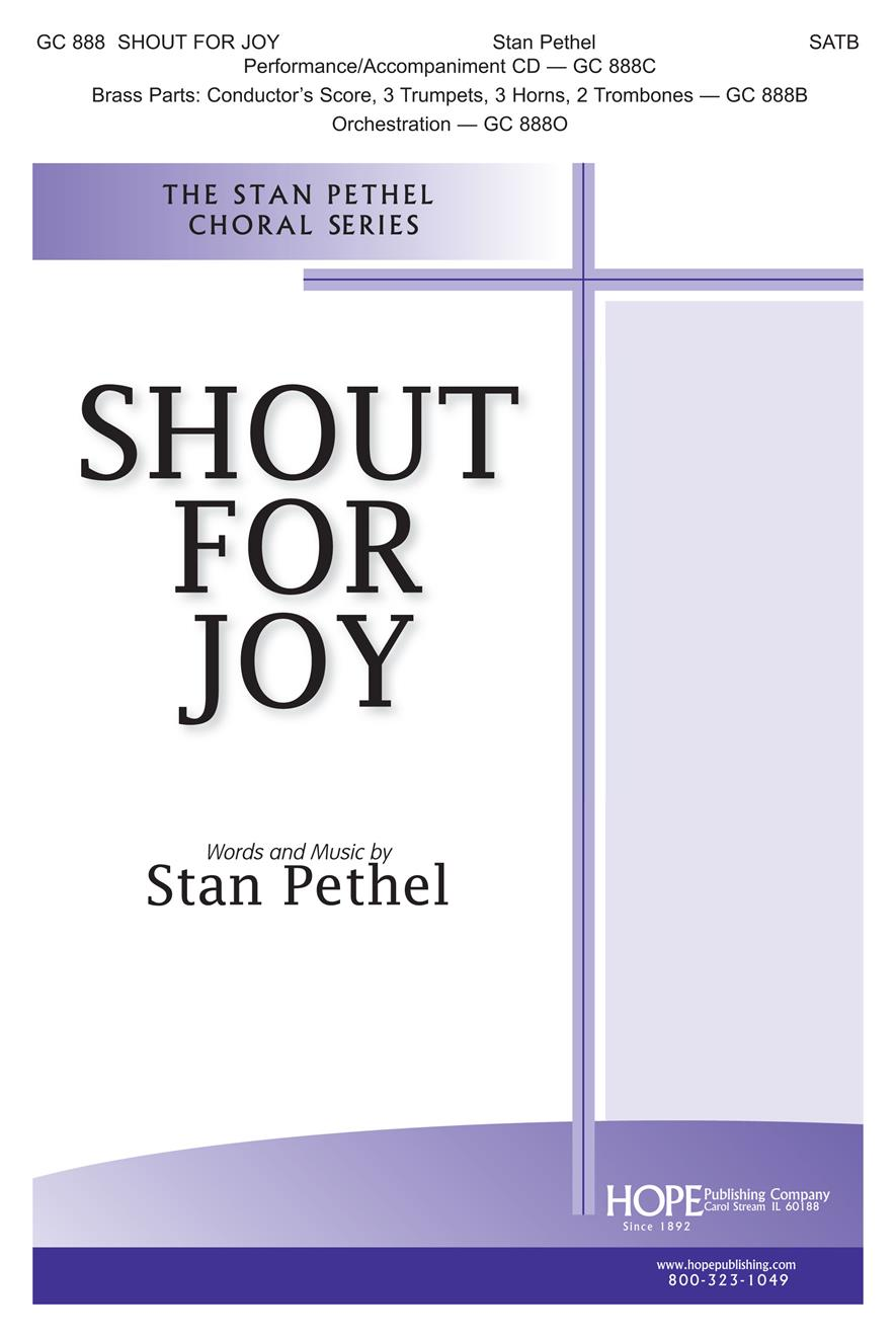 Shout for Joy - SATB Cover Image