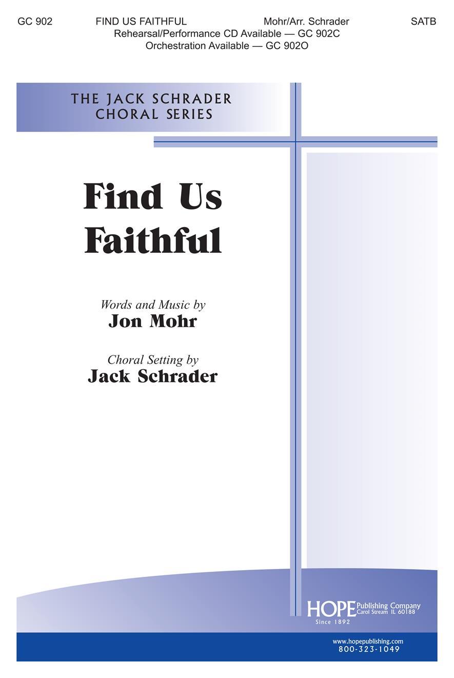 Find Us Faithful - SATB Cover Image