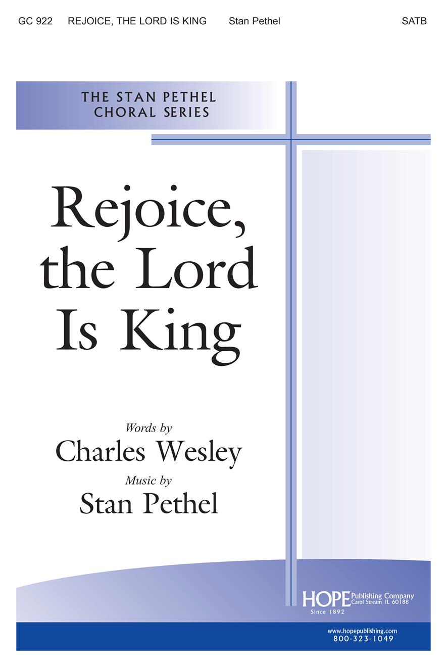 Rejoice the Lord Is King - SATB Cover Image