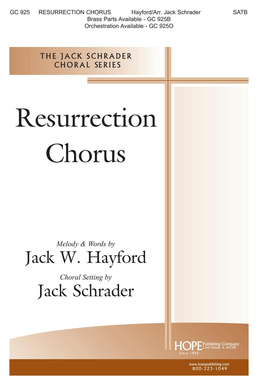 Resurrection Chorus - SATB Cover Image