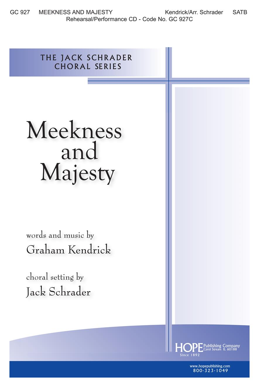 Meekness and Majesty - SATB Cover Image