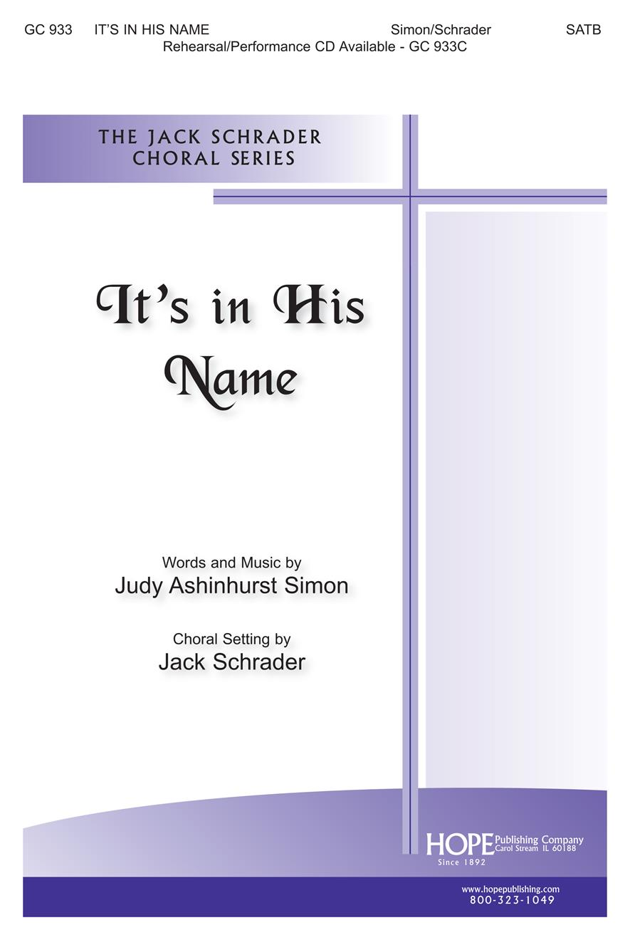 It's in His Name - SATB Cover Image
