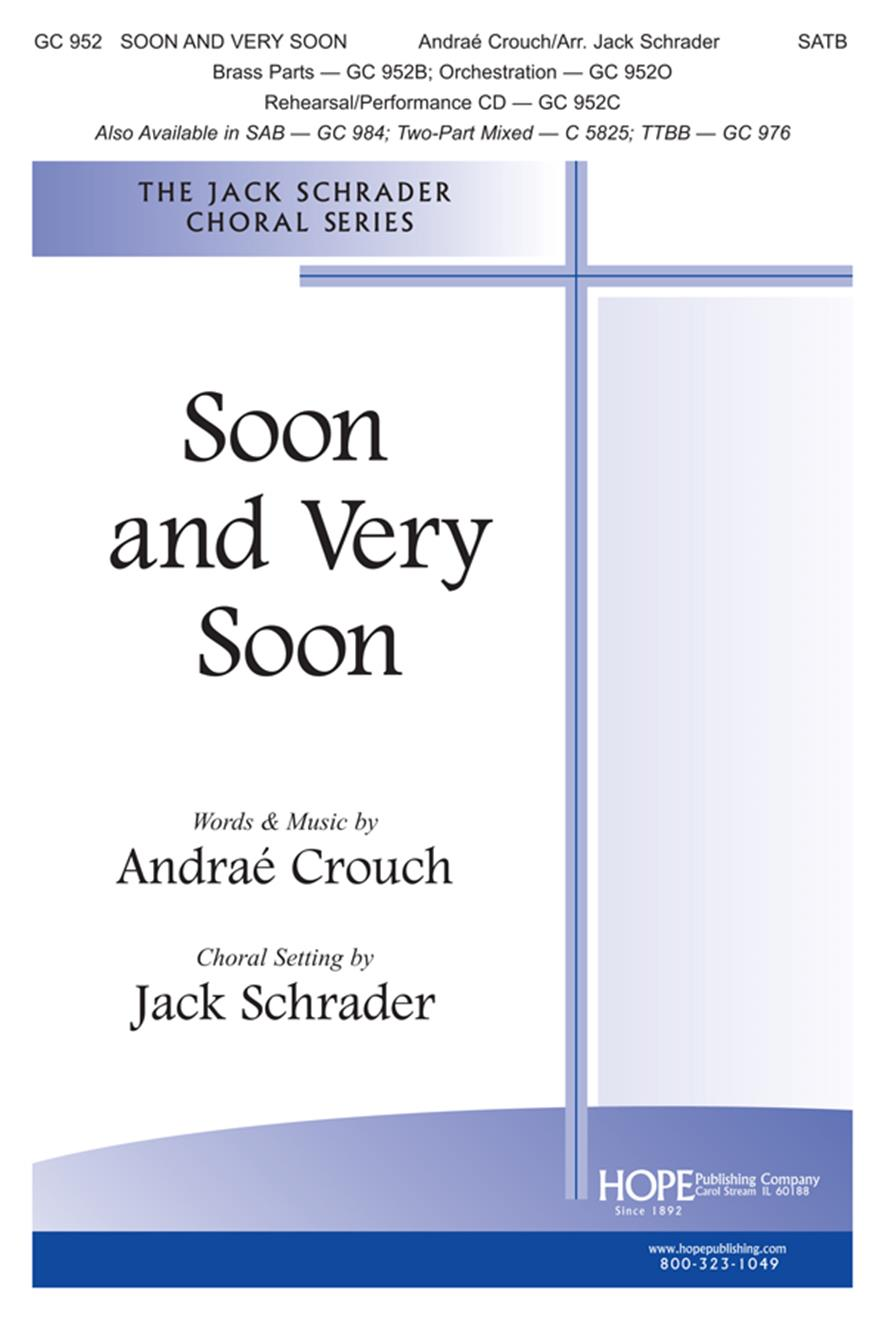 Soon and Very Soon - SATB Cover Image
