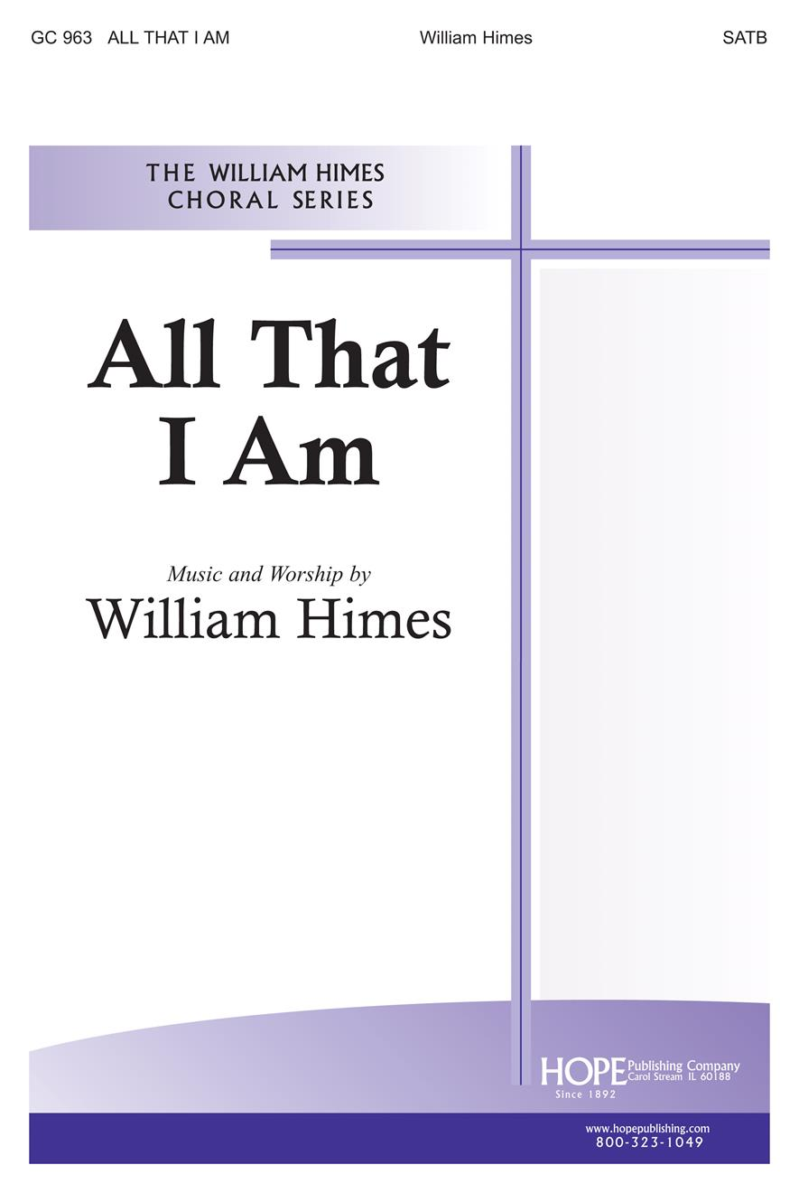 All That I Am - SATB Cover Image