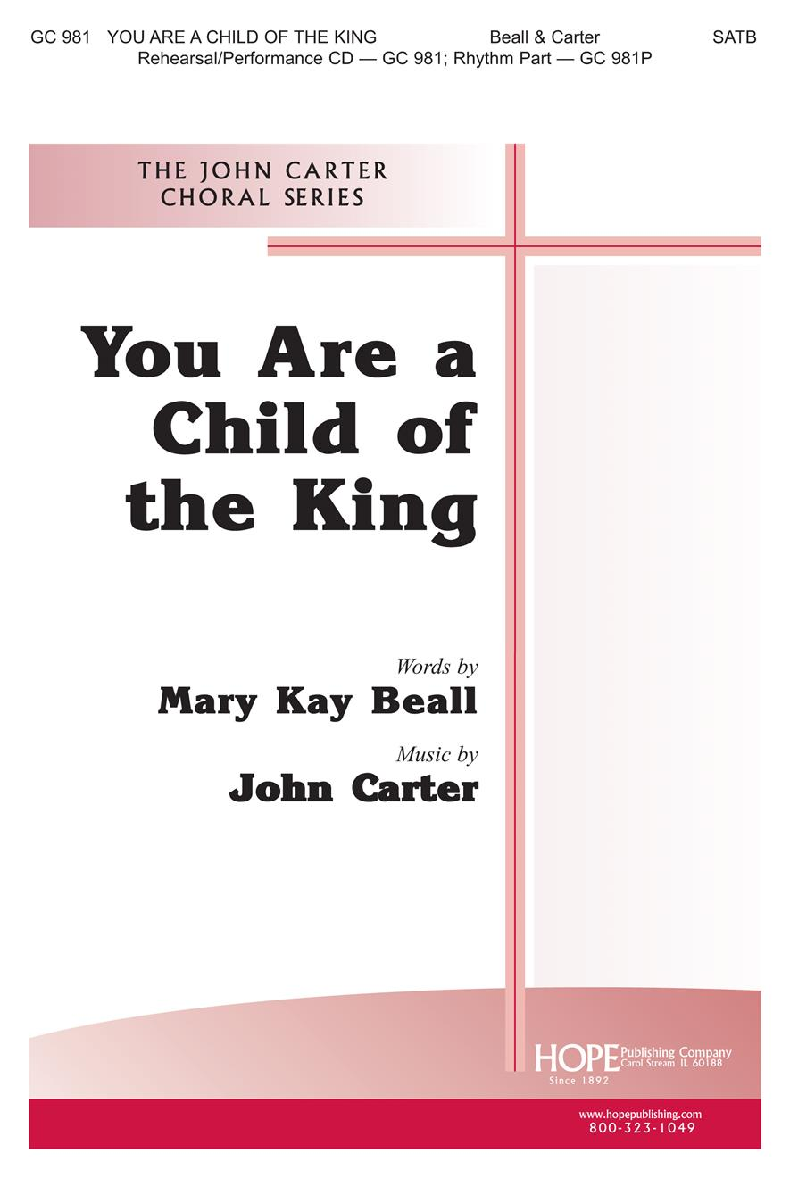 You Are a Child of the King - SATB Cover Image