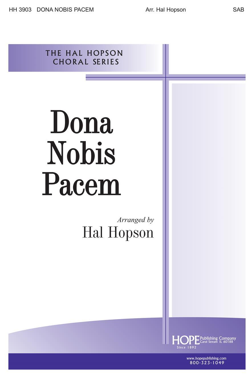 Dona Nobis Pacem - SAB Cover Image