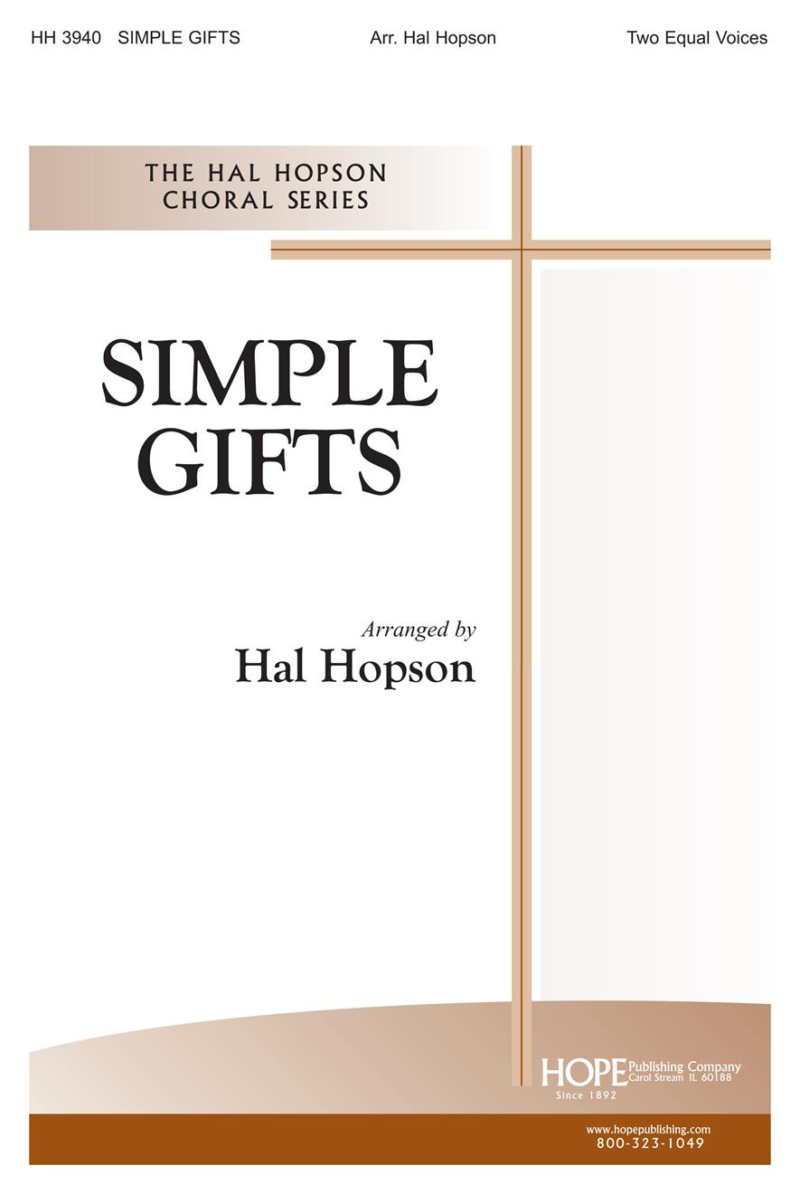 Simple Gifts - Two Equal Voices Cover Image