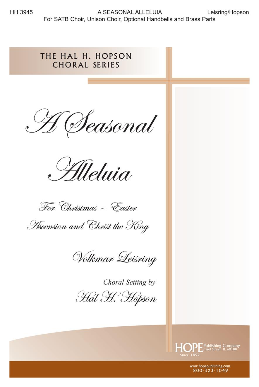 Seasonal Alleluia A - SATB and Unison Handbells and Brass Cover Image