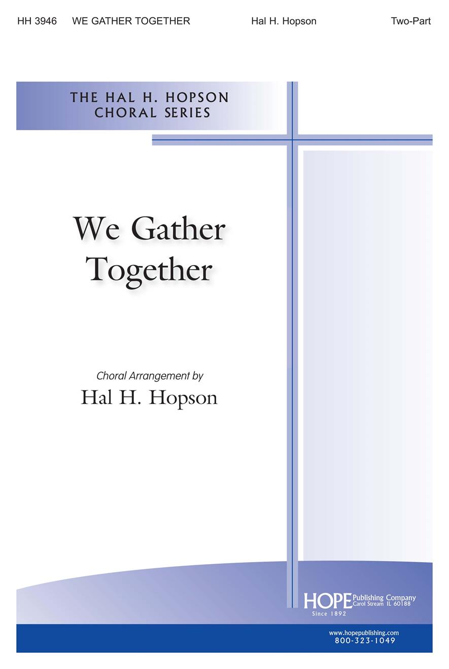We Gather Together - Two-Part Cover Image