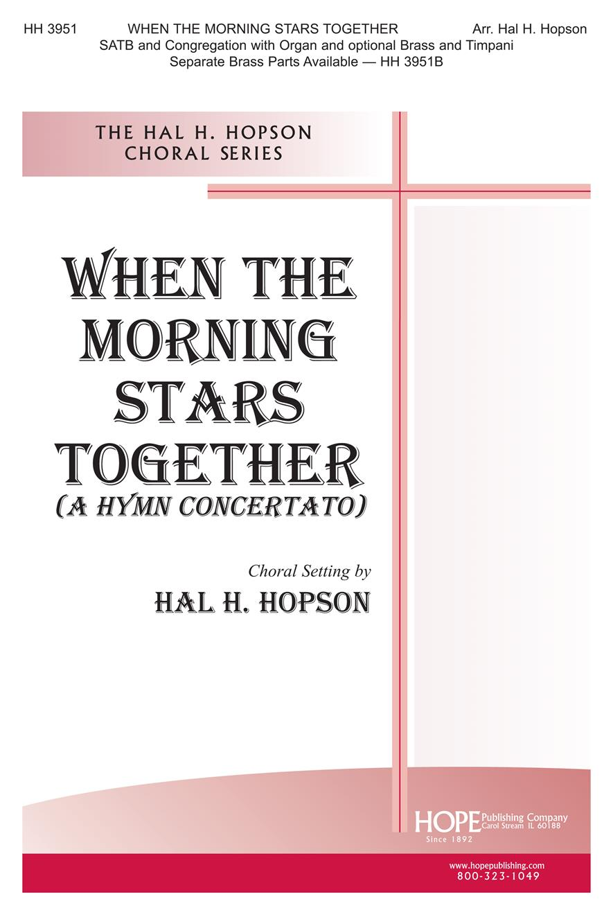 When the Morning Stars Together - SATB Cover Image