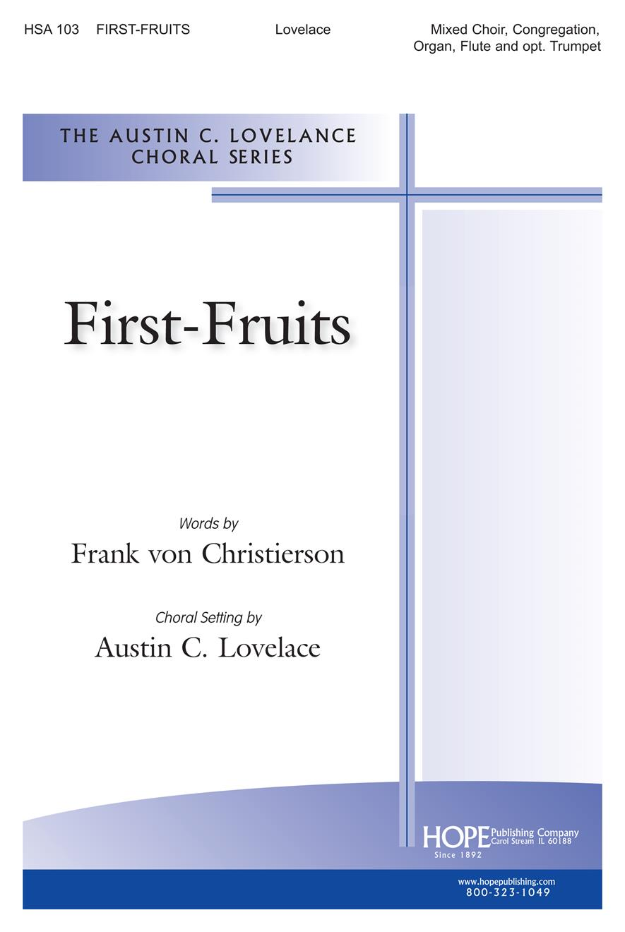 First-Fruits - SATB Flute and Congregation Cover Image