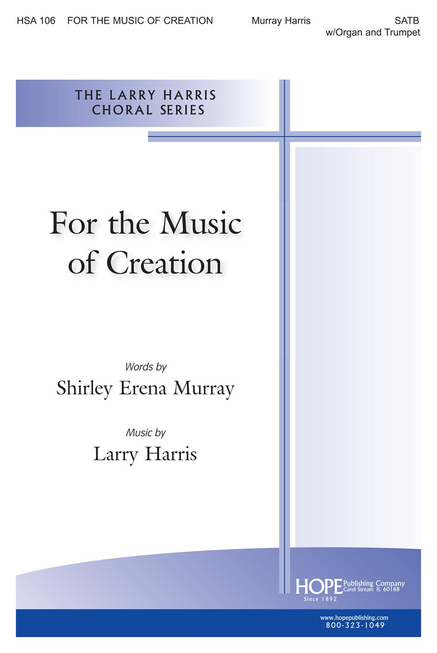 For the Music of Creation - SATB Cover Image