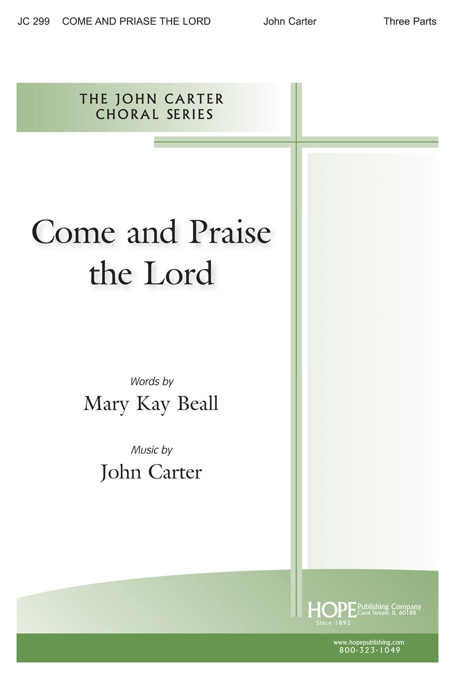 Come and Praise the Lord - Three-Part Cover Image