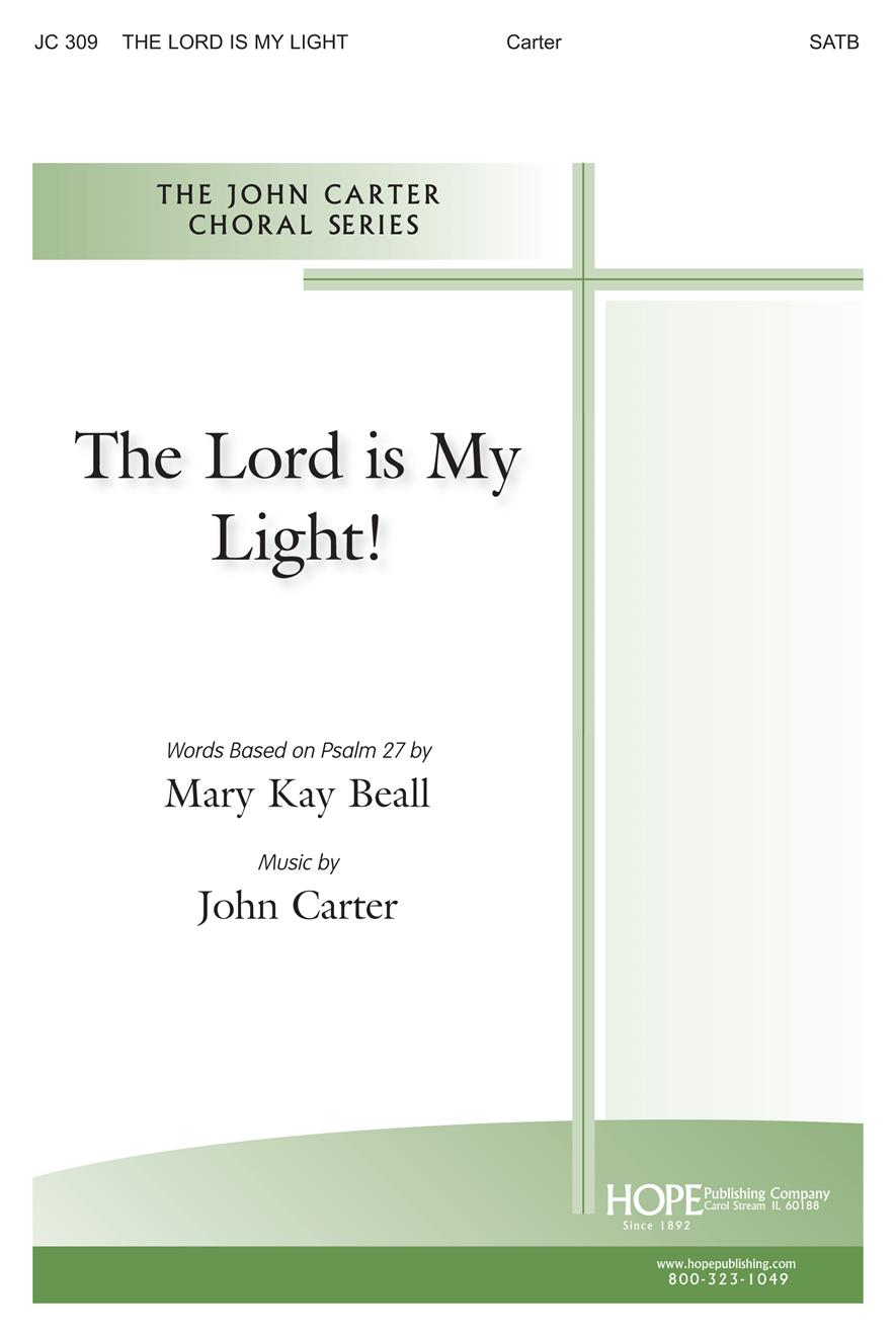 Lord Is My Light The - SATB Cover Image