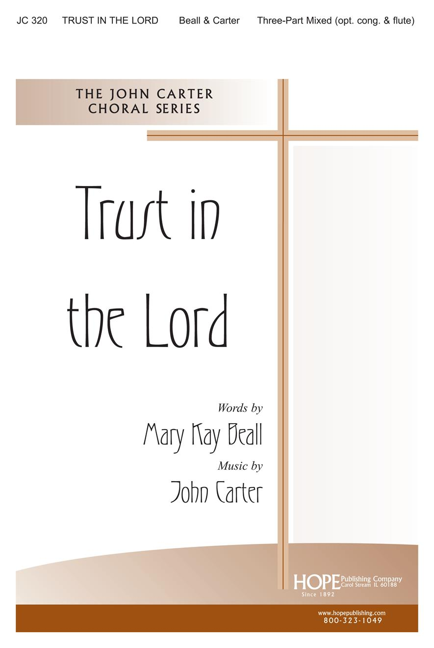 Trust in the Lord - Three-Part Mixed Cover Image