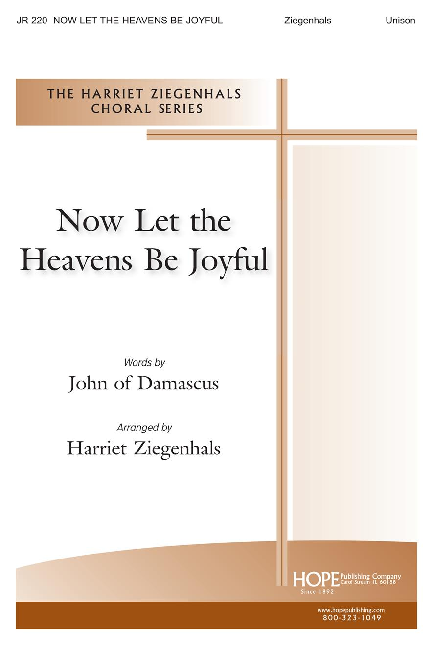 Now Let the Heavens Be Joyful - Unison or Three-Part Cover Image