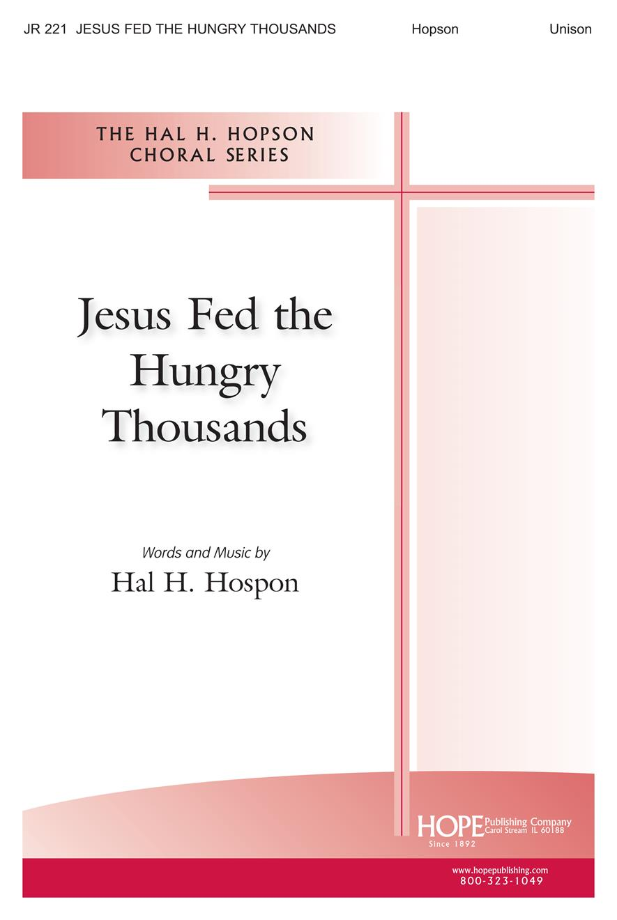 Jesus Fed the Hungry Thousands - Unison Cover Image