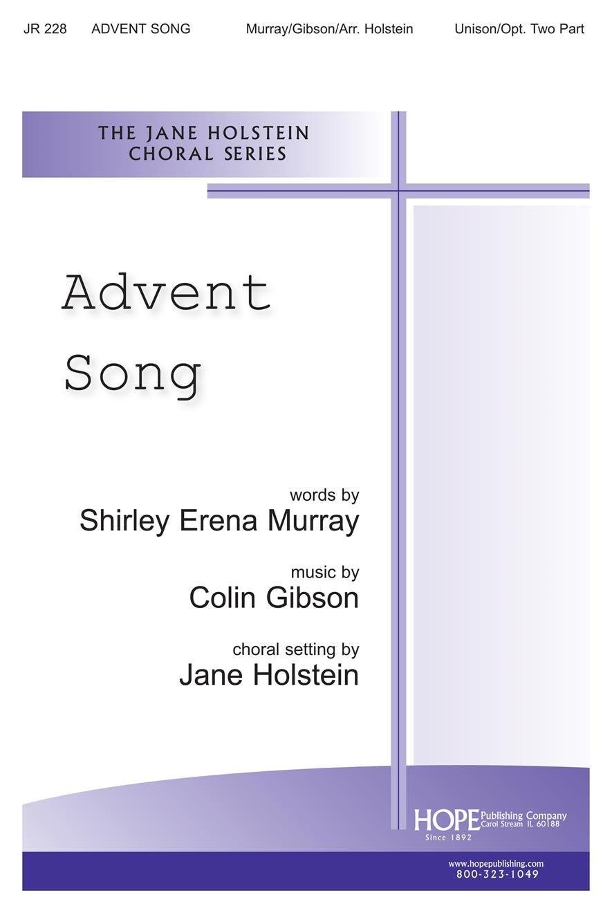 Advent Song - Unison Cover Image