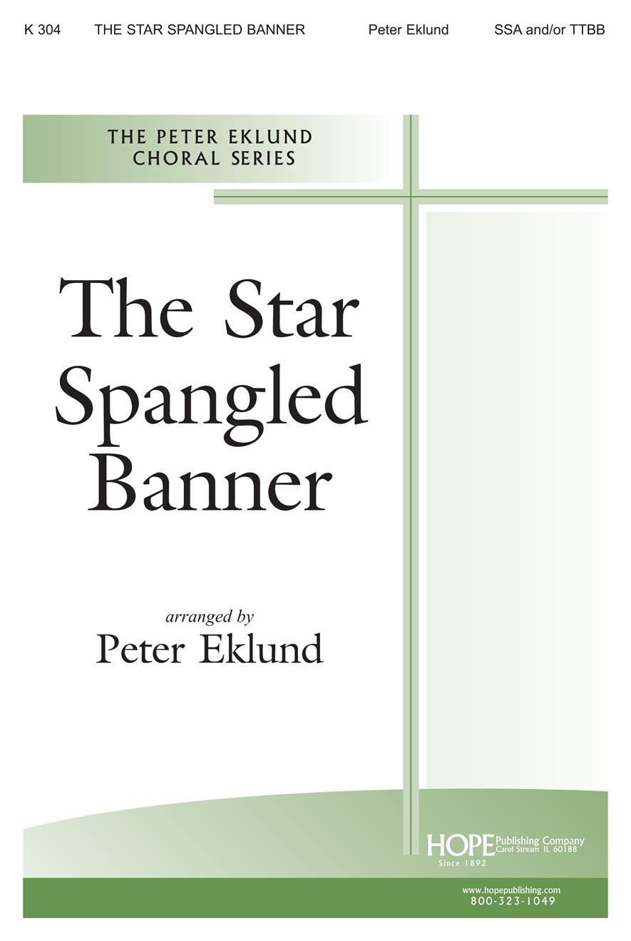 Star Spangled Banner The - SSA-TTBB Cover Image