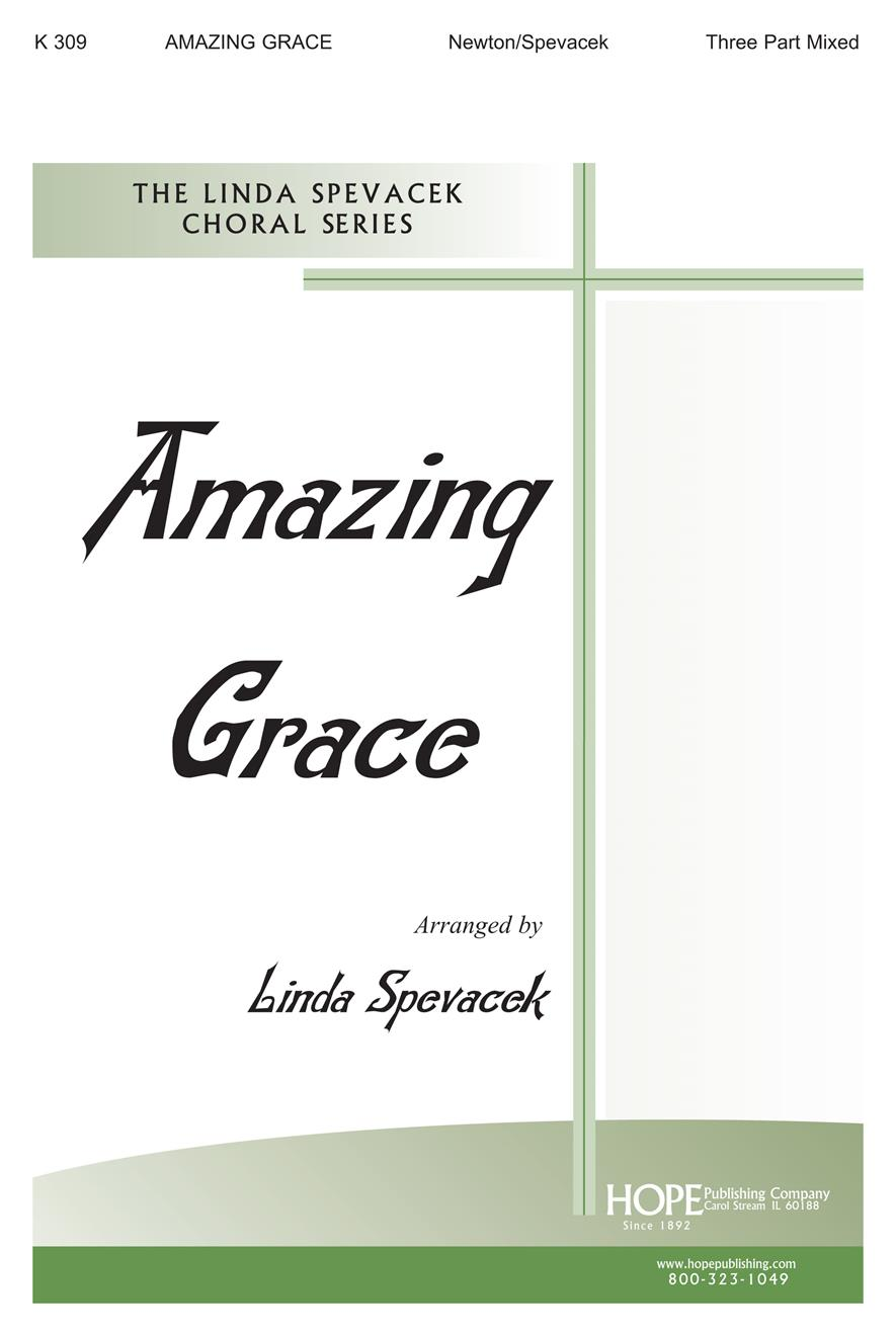 Amazing Grace - Three-Part Cover Image
