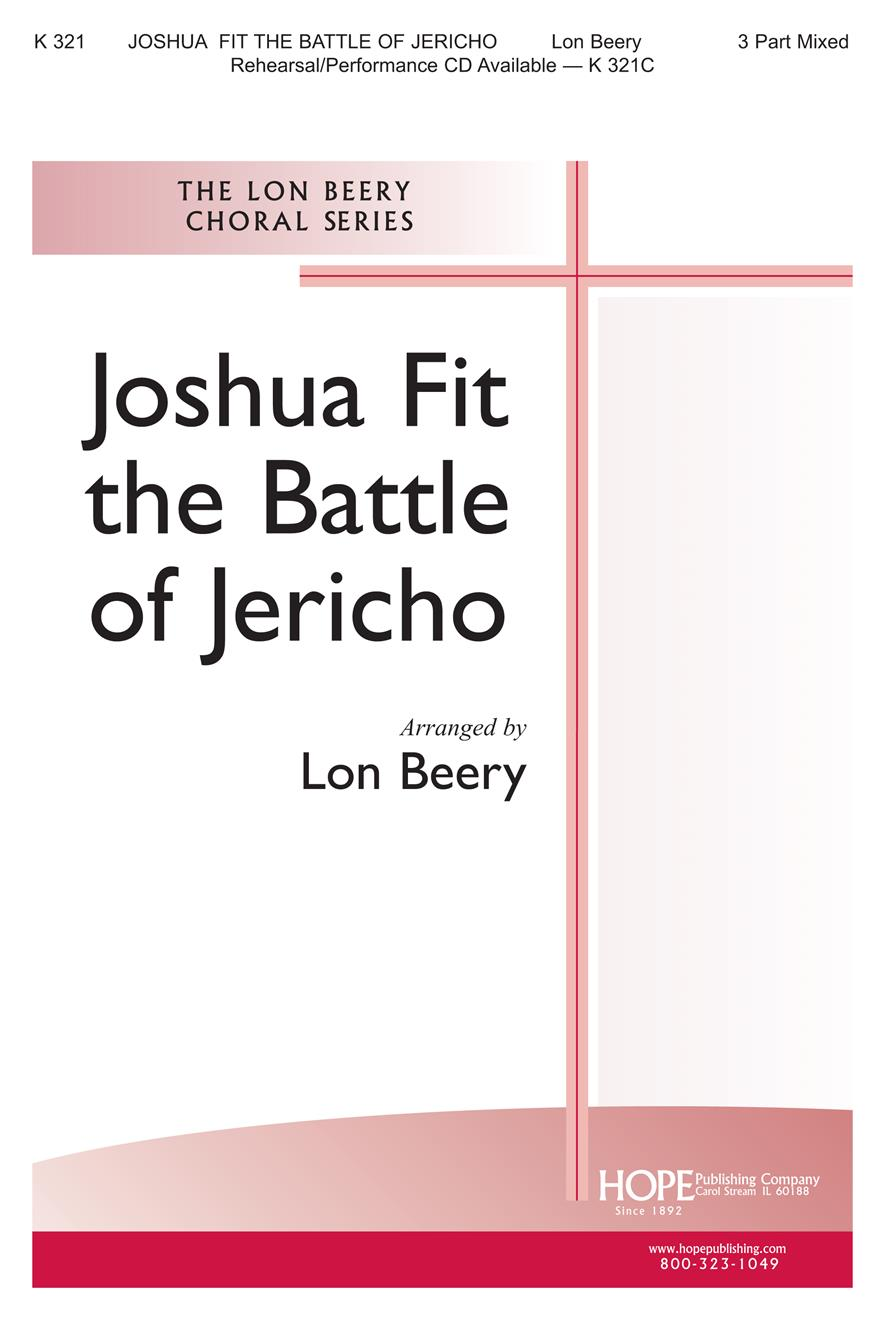 Joshua Fit the Battle of Jericho - Three-Part Mixed Cover Image