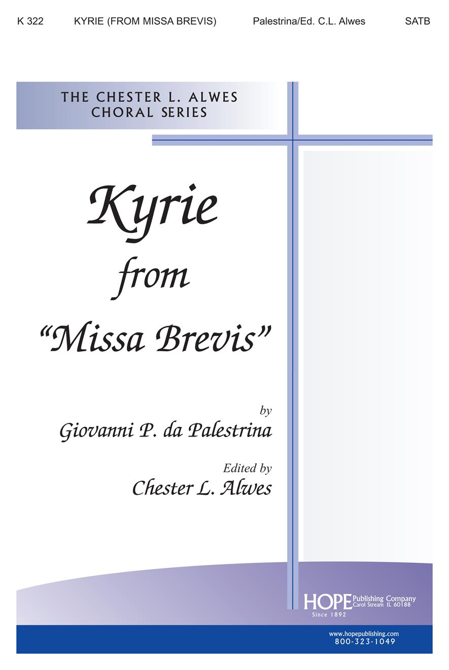"Kyrie from ""Missa Brevis"" - SATB Cover Image"