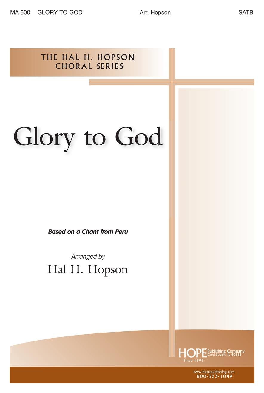 Glory to God - SATB Cover Image