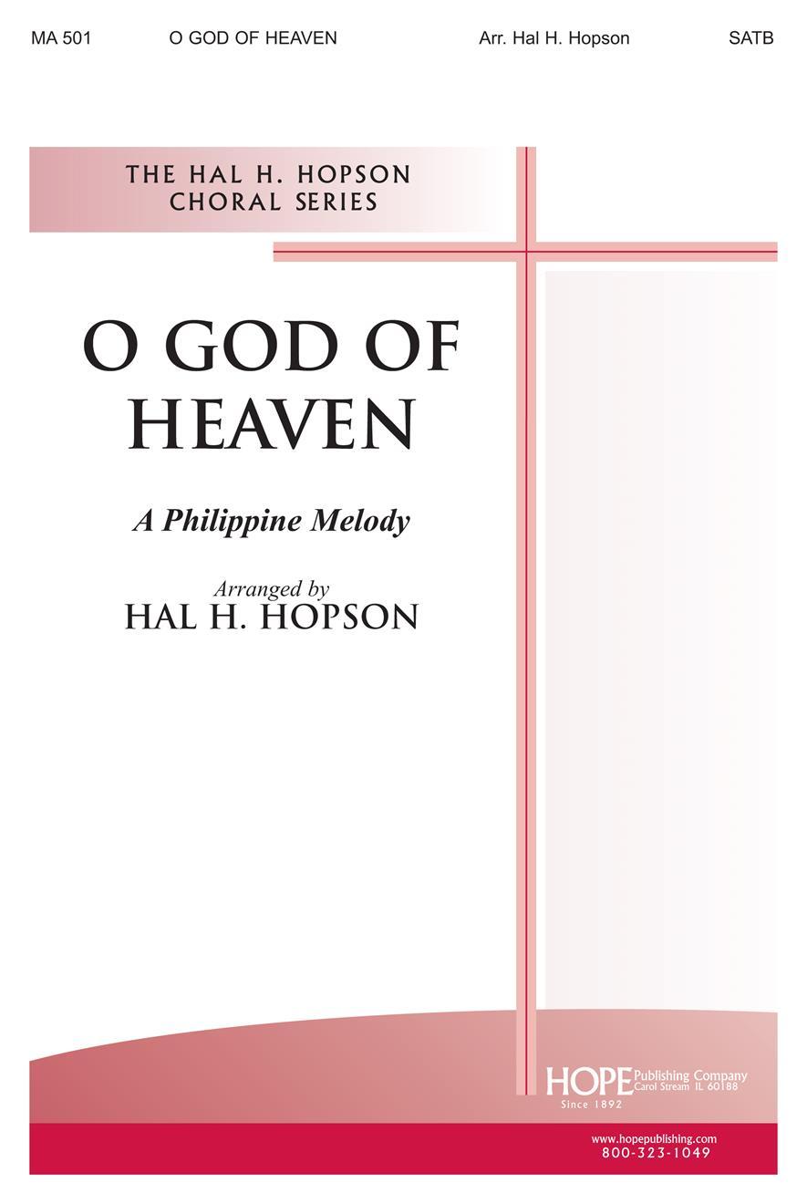O God of Heaven - SATB Cover Image